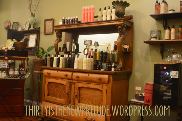 products at juju salon and organics